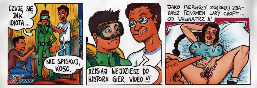lara croft komiks